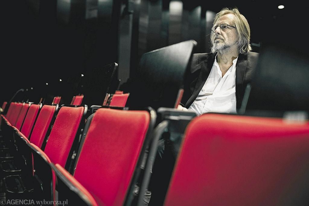 Jan A.P. Kaczmarek (Fot. Łukasz Cynalewski/Agencja Gazeta)