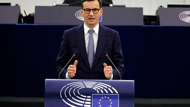 Przemówienie premiera Mateusza Morawieckiego w Parlamencie Europejskim