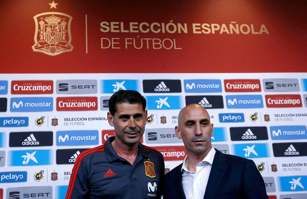 MŚ 2018. Fernando Hierro i Luis Rubiales