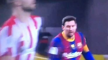 Leo Messi w akcji