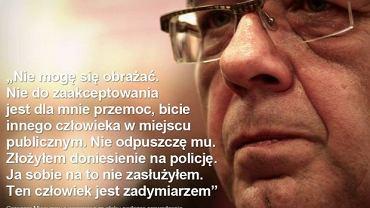 Grzegorz Miecugow podczas spotkania z woodstockowiczami odniósł się do piątkowego incydentu