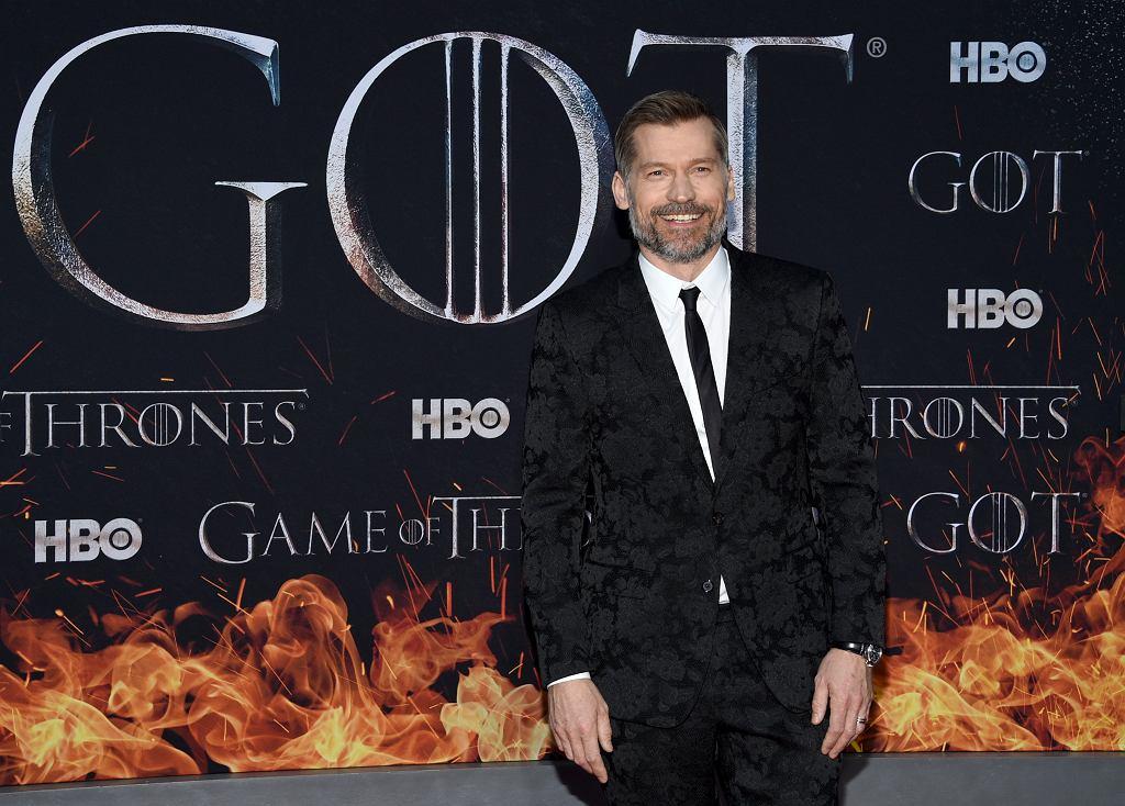 Gra o tron - premiera ósmej serii w Nowym Jorku. Na zdjęciu Nikolaj Coster-Waldau