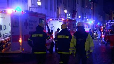Wybuch w Ansbach w Niemczech