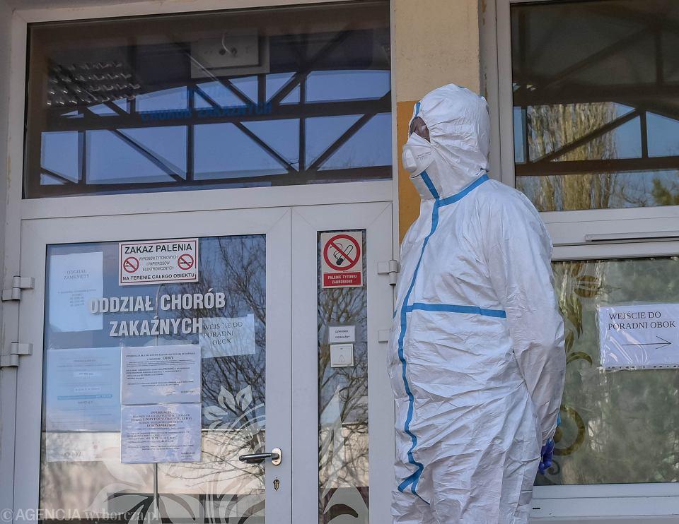 W Łańcucie potwierdzono pierwszy przypadek zakażenia koronawirusem