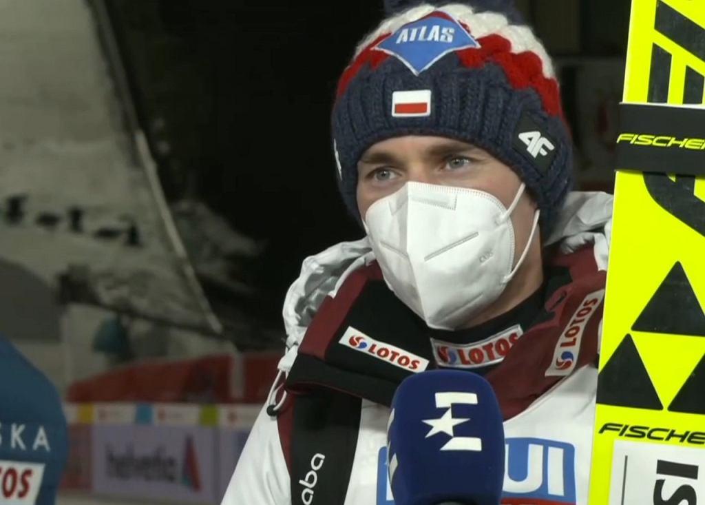Kamil Stoch po kwalifikacjach w Oberstdorfie