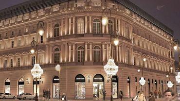 Wizualizacja Hotelu Europejskiego po przebudowie