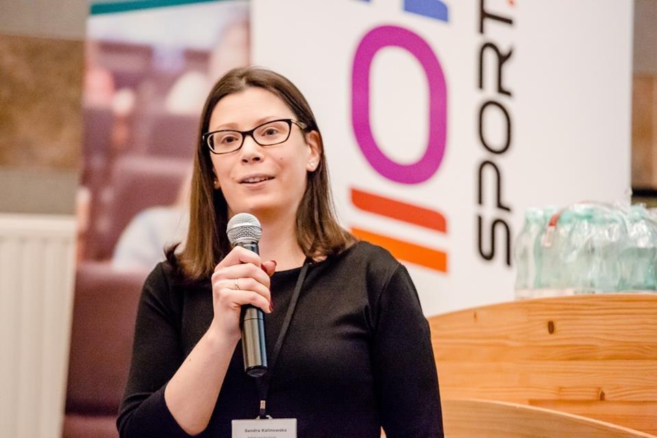 Sandra Kalinowska I Konferencja Psychologii Sportu