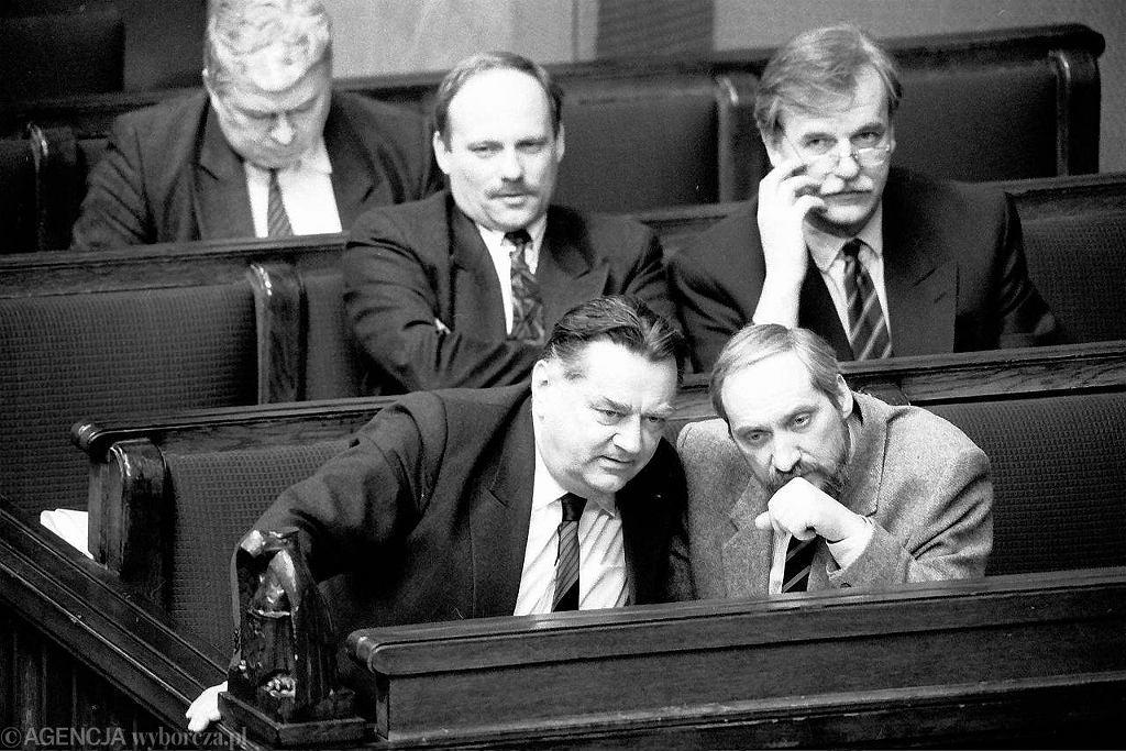 Jan Olszewski, Antoni Macierewicz, Andrzej Olechowski
