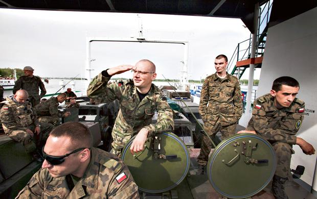 mój pierwszy raz, Mój pierwszy raz: misja Rosomak, Nasza kompania ćwiczyła załadunek na okręty