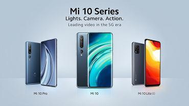 Xiaomi Mi 10 , Mi 10 Pro i Mi 10 Lite 5G debiutują w Europie