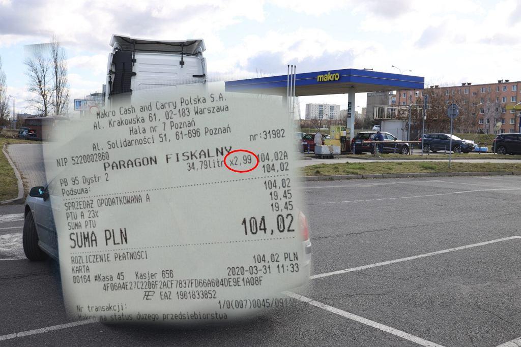 Cena paliwa w Polsce przebiła barierę 3 zł