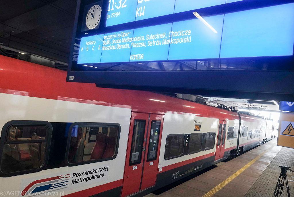 PKM cieszy się wielkim zainteresowaniem mieszkańców aglomeracji poznańskiej. Coraz więcej osób na co dzień jeździ koleją