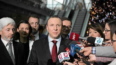Konferencja nowego szefa TVP