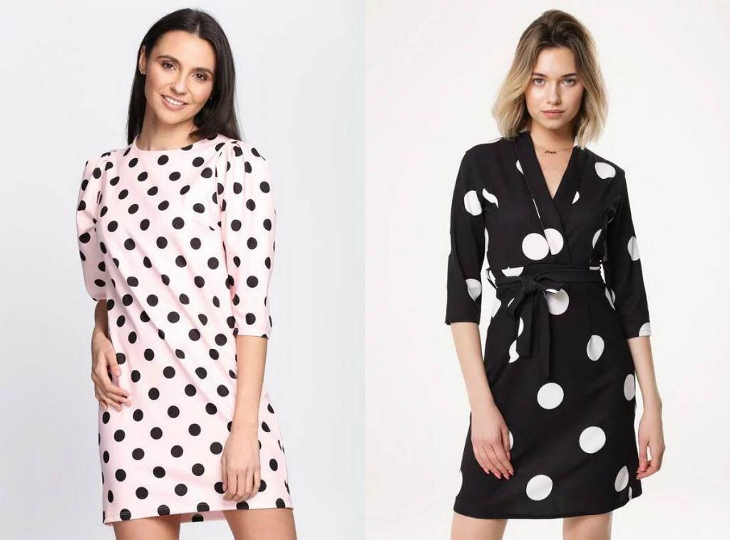Sukienki w grochy - trend, który powrócił po latach