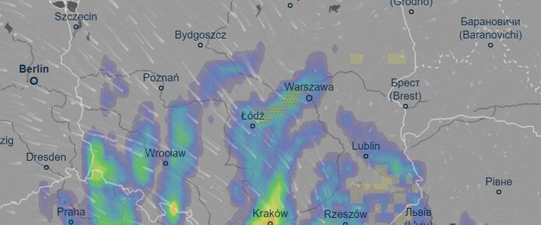 Ostrzeżenia najwyższego stopnia przed silnym deszczem. Zbiera się sztab kryzysowy