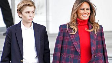 Melania Trump, BarronTrump
