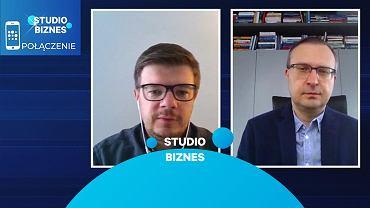 Paweł Borys, szef PFR, gościem programu 'Studio Biznes'