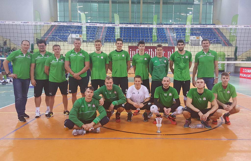 Indykpol AZS Olsztyn z pucharem za trzecie miejsce w Pucharze Czterech Trenerów w Elblągu