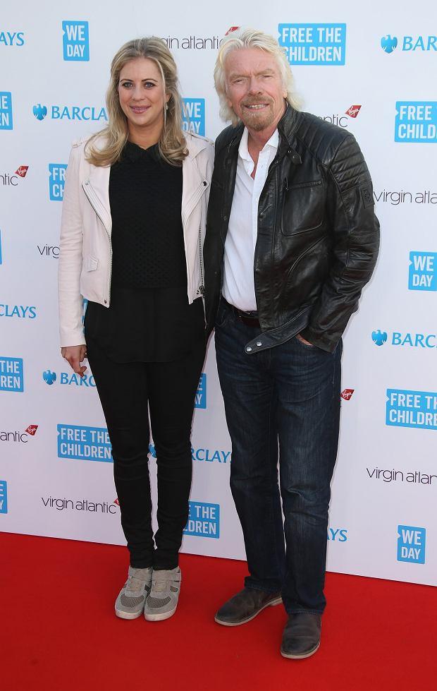 Holly Branson, Richard Branson