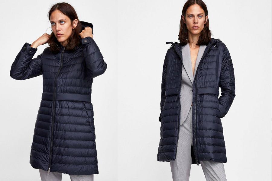 Zara kurtka pikowana