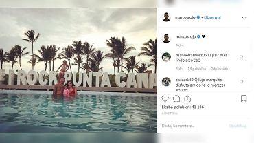 Marcos Rojo przerwał wakacje na Dominikanie. Seria zgonów w hotelach