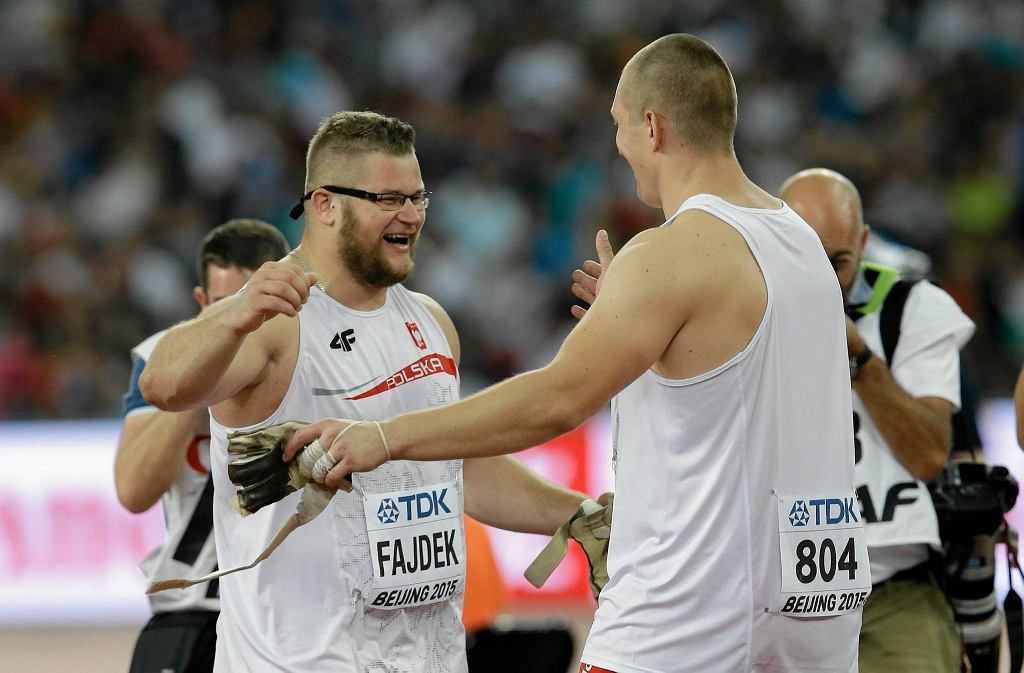 Paweł Fajdek i Wojciech Nowicki w Pekinie