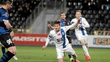 Zawisza Bydgoszcz - Lech Poznań 1:0. Karol Linetty