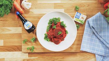 Pulpeciki wegetariańskie w sosie pomidorowym