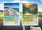 """Atlasy samochodowe Polski - część północna i południowa z """"Gazetą Wyborczą"""""""