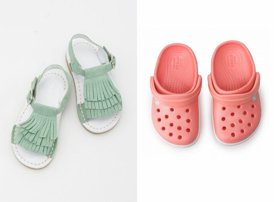 Praktyczne obuwie na plażę dla dzieci