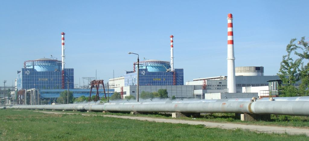 Chmielnicka elektrownia atomowa na Ukrainie