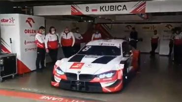 Robert Kubica wrócił na tor