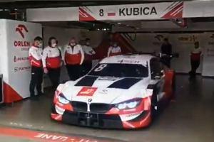 Robert Kubica wrócił na tor! Pojechał o 1,3 sekundy wolniej niż najlepszy kierowca