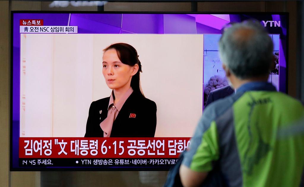 Twarzą obecnej fazy konfrontacji stała się siostra Kim Dzong Una, Kim Jo Dzong