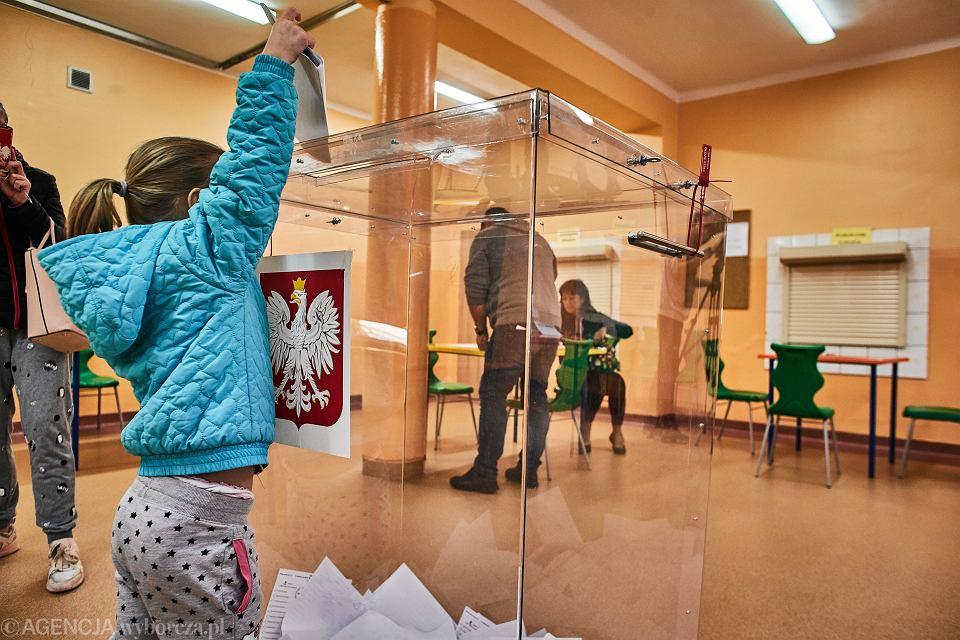 13.10.2019, Łódź, wybory parlametarne