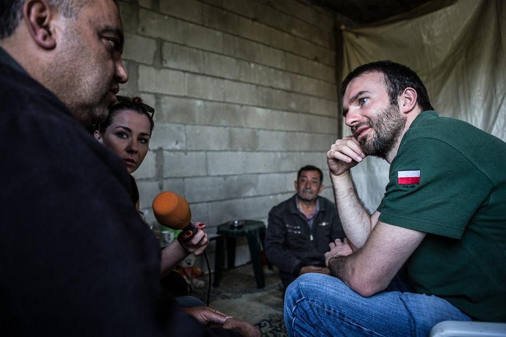 Syryjscy uchodźcy w Libanie, którym pomaga Polskie Centrum Pomocy Międzynarodowej