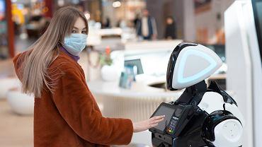Robot pandemii się nie boi