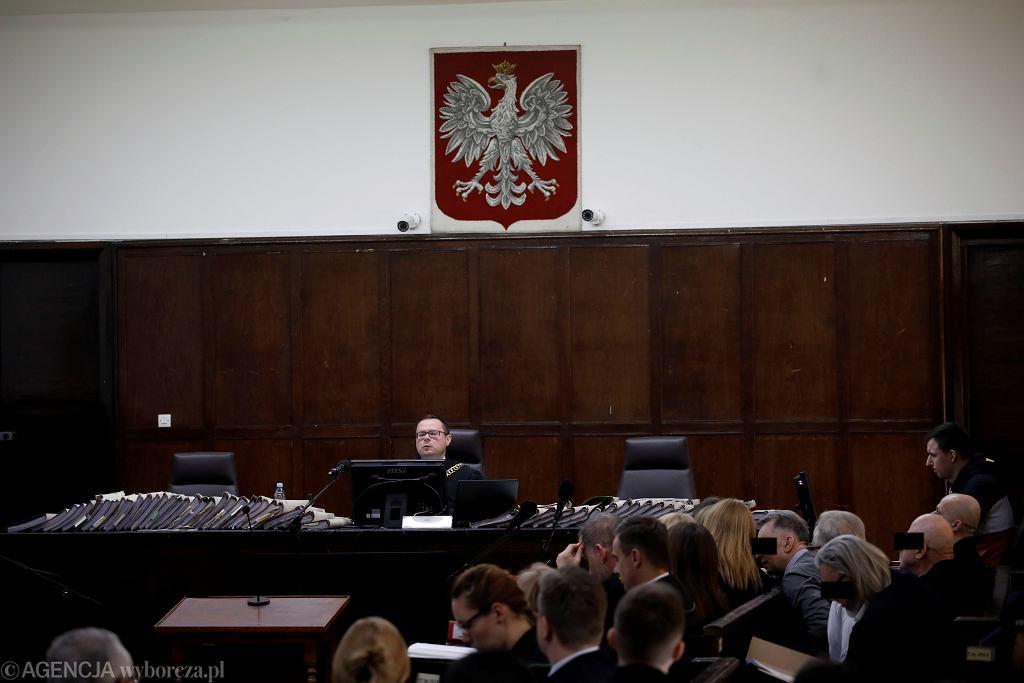 Proces mafii pruszkowskiej w Sądzie Okręgowym w Warszawie (zdjęcie ilustracyjne)