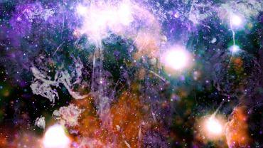 """Niezwykłe zdjęcie Drogi Mlecznej. """"To gwałtowny lub energetyczny ekosystem w centrum naszej galaktyki"""""""