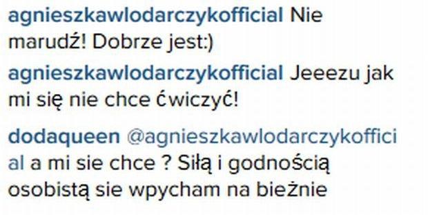 Screen z Instagrama Dody