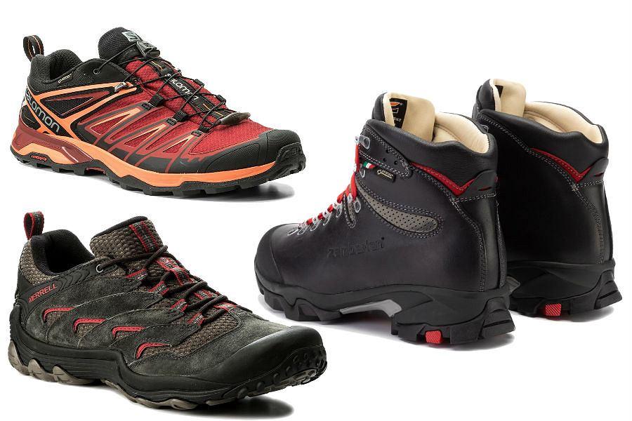 Buty trekkingowe na lato męskie