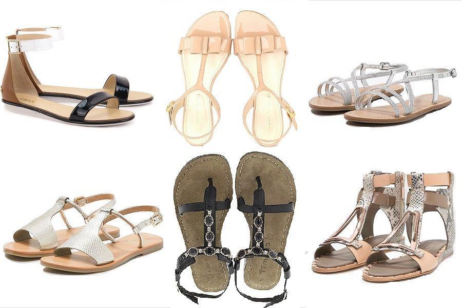 Sandały na sezon wiosna-lato