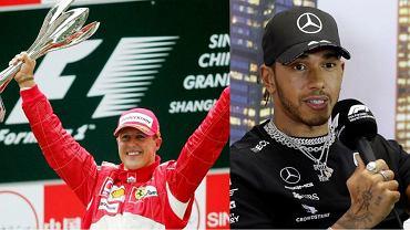 Lewis Hamilton wyrównał 14-letni rekord Michaela Schumachera