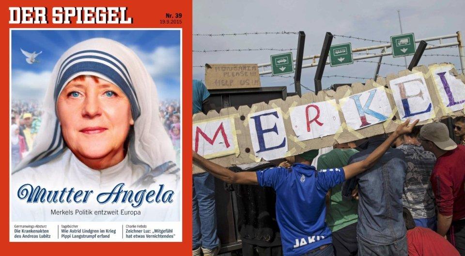 Angela Merkel i uchodźcy