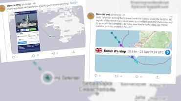 Rosja. Brytyjski okręt 'ostrzegawczo ostrzelany'