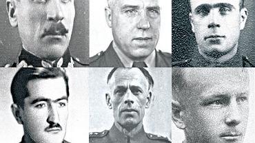 Funkcjonariusze milicji i UB w Kielcach w 1946 r.