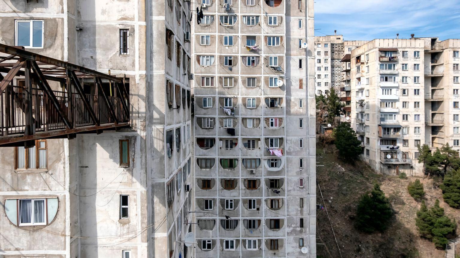 Chruszczowki w Tbilisi