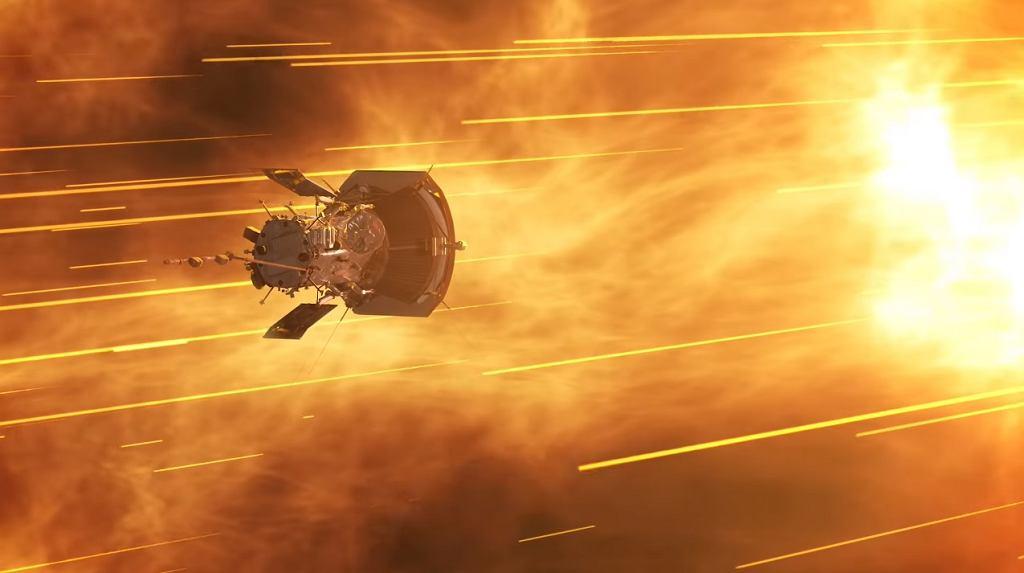 Sonda Parker na grafice NASA