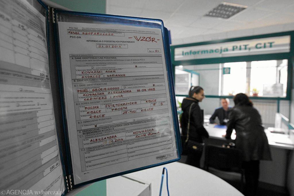 Rozliczenie PIT można złożyć m.in. w Urzędzie Skarbowym w Kielcach