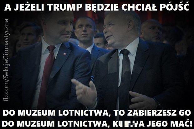 Donald Trump w Polsce ||